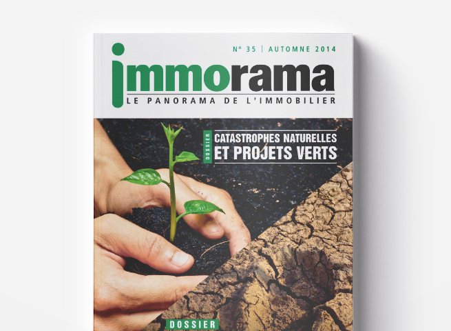 Couverture Immorama 35