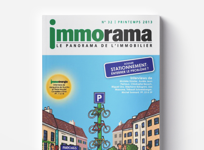 Couverture Immorama 32