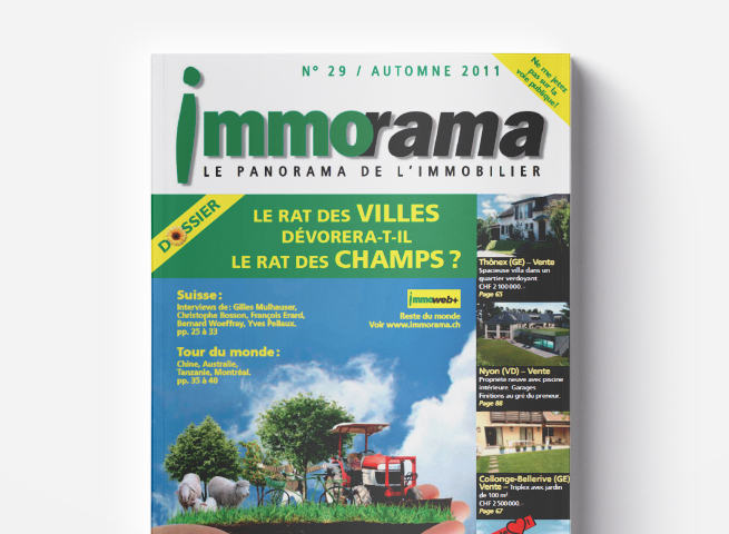 Couverture immorama 29