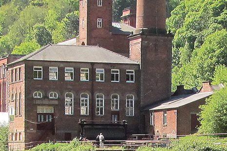 Construite en 1783, cette filature est inscrite au Patrimoine mondial de l'UNESCO.