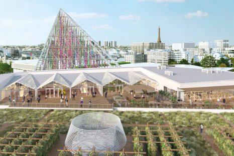 Avec ses 14'000 m2 de plantation inaugurés au printemps 2020, la couverture du Parc des expositions de la porte de Versailles à Paris est la plus grande ferme sur toit d'Europe.