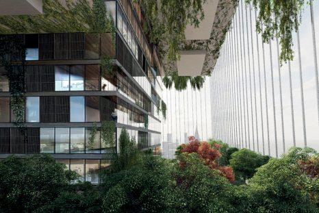 Skylines, une ferme verticale post-Covid, plantée au cœur de New York.