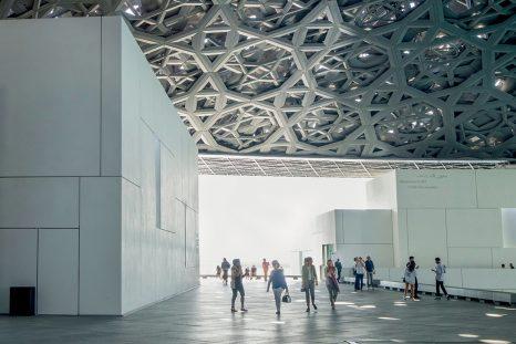 Le toit du Louvre Abu Dhabi de Jean Nouvel.