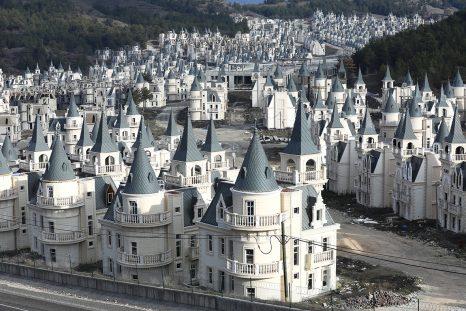 Les mini-châteaux de Bolu en Turquie.